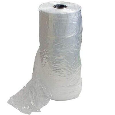 Plastic Clear Poly Dry Cleaning Bags 72 - 250 Per Roll