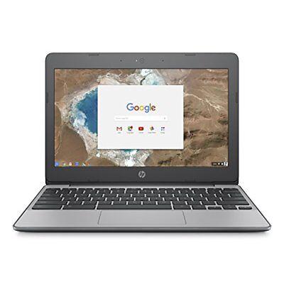 HP Chromebook, Intel Celeron N3060, 4GB RAM, 16GB eMMC with Chrome OS, 11-v010nr
