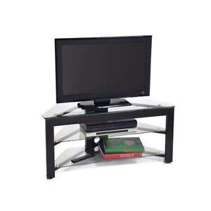 corner flat screen tv stands. Black Bedroom Furniture Sets. Home Design Ideas