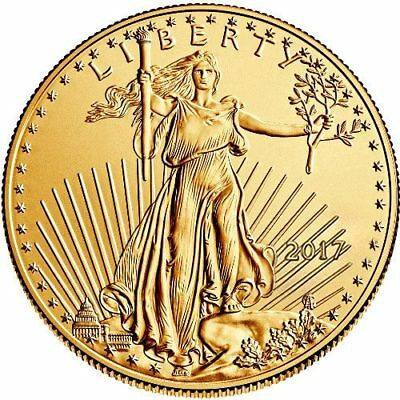2017 1 oz American Gold Eagle Coin (BU)