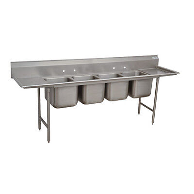 Advance Tabco T9-4-72-18rl 16 Regaline 4-compartment Sink