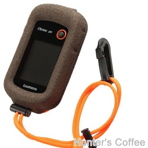 GizzMoVest for eTrex Touch Molded Case in Hunters Coffee Brown