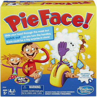2016 Hot Funny Exciting Adult Kids Rocket Game Pie Face Children Toy Xmas Gift