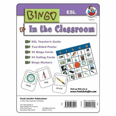 In The Classroom ESL Bingo Game Kit