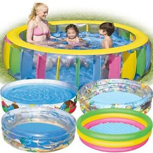 Family swimming pool garden outdoor summer activity for Family garden pool
