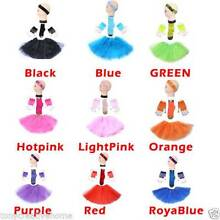 Short-Glove HSGL TUTU 4 Set Skirt Socks Kids/Girl/Lady TUTU Balle Homebush West Strathfield Area Preview