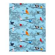 Bird Print Fabric