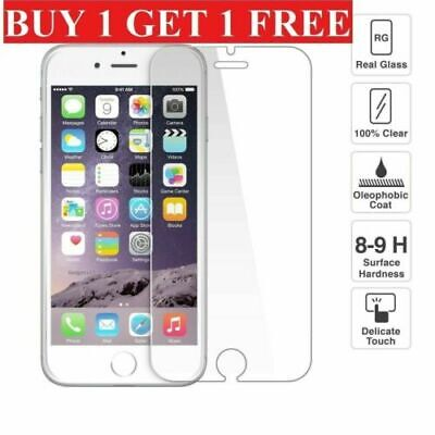 For Apple iPhone 6 7 8 Plus Tempered Glass Screen Protector – 100% Genuine