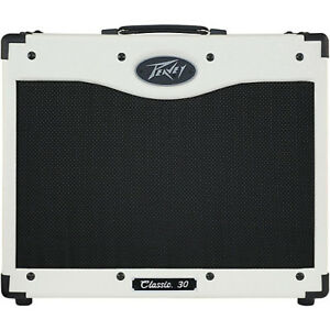 Peavey Classic 30 - Special Edition White with matching 112 cab