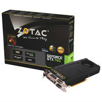 ZOTAC GeForce GTX 760 2GB DDR5 PCI-E Video Card Brand new
