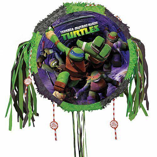Teenage Mutant Ninja Turtles Pinata with Pull String