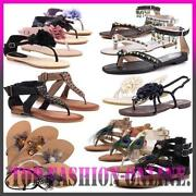 Luxus Neu Designer Damen Schuhe Sandalen Pumps Zehentrenner