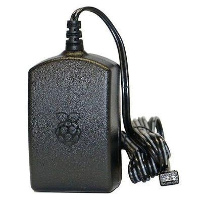 offizielles Raspberry Pi 3 Netzteil microUSB 5,1V / 2,5A schwarz