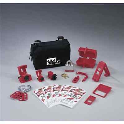Ideal 44-970 15-pieces Basic Lockouttagout Kit With Small Zippered Pouch
