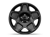 "Jeep Wrangler JK Set of 5 20"" inch Alloy Wheels Black by Kahn Mondial"