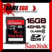 SanDisk 16GB Extreme SD Card Class 10