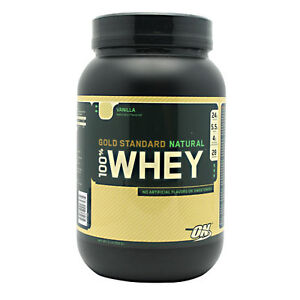 Optimum Nutrition 100% Natural Whey Gold Standard Protein Powder