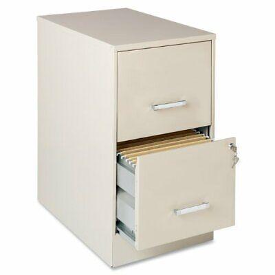 Lorell Soho 22 2-drawer File Cabinet - 14.3 X 22 X 26.7 - Steel - 2 X File