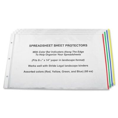 Stride Semi-clear Sheet Protectors - 20 Sheet Capacity - Legal 8.50 Stw61300