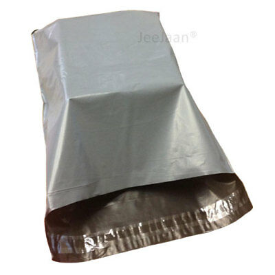 200 - 10 x 14 Grey Mailing Plastic Postage Post Packing Postal Courier Bags
