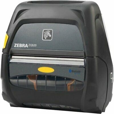 Zebra Technologies Zq52-aue0000-00 Thermal Printer 4 Size Bluetooth Incl Dc