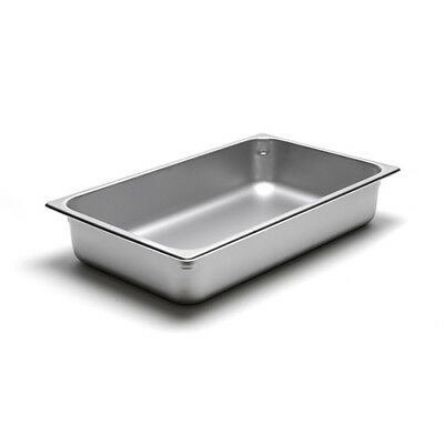 22 Gauge Stainless Steel Steam Table Pan Full-size 14 Quart