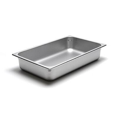22 Gauge Stainless Steel Steam Table Pan Full-size 14 Quart