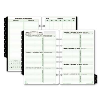 Day-timer 91010 Dated Two-page-per-week Organizer Refill January-december 5
