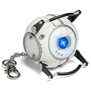 Portal-2-Wheatley-LED-Flash-Light-Key-Chain-Officially-Licensed-Valve