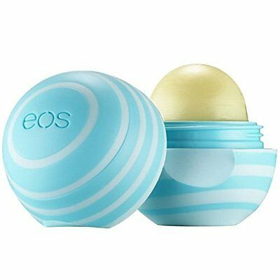 3 Pack Eos Visibly Soft Lip Balm Sphere Vanilla Mint 0 25Oz Each