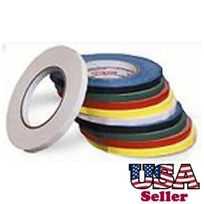 6 Rolls 38 180 Yd Produce Poly Bag Sealer Color Tapes