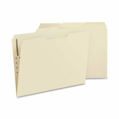Smead 14534 Manila Fastener File Folders With Reinforced Tab - Letter Smd14534