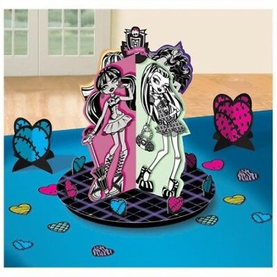 Monster High Table Decorating Kit Centerpiece Girls Birthday Decoration Party - Monster High Table Decorations