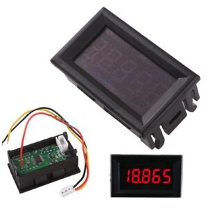 Digital Voltage Panel Readout - Projects - Solar - E Vehicle
