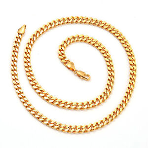 18k Gold Filled 30 Grams Cuban Curb Chain 20 INCHES