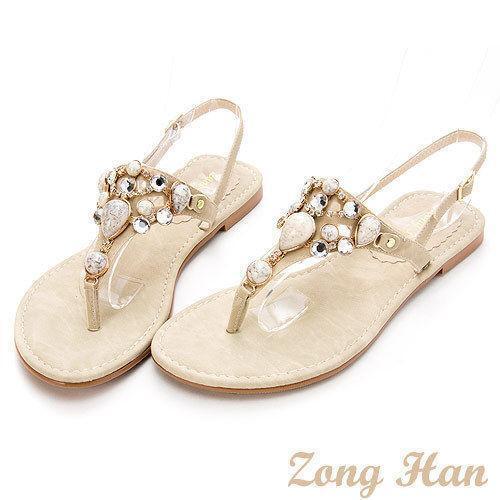 Jeweled Sandals Flats | EBay