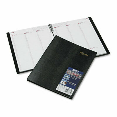 Rediform Coilpro Weekly Planner Ruled 8-12 X 11 Black Ea - Redcb950cblk