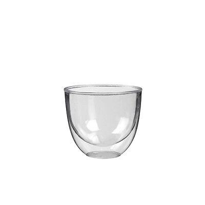 Fingerfood - Doppelwand Becher PS 140 ml Ø 7,3 glasklar Party Geschirr 10  Stück ()