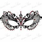 Red Black Masquerade Mask