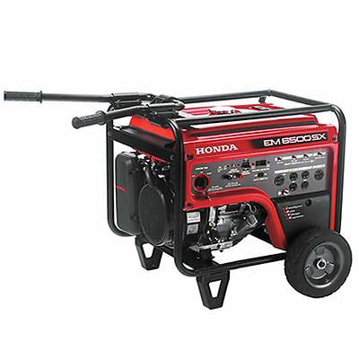 Honda Em6500 - 5500 Watt Portable Generator W Electric Start
