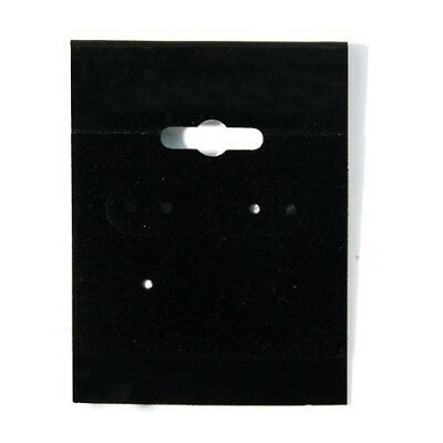 2000 Black Hanging Earring Cards 2h X 1 12w Jewelry Display With Lip