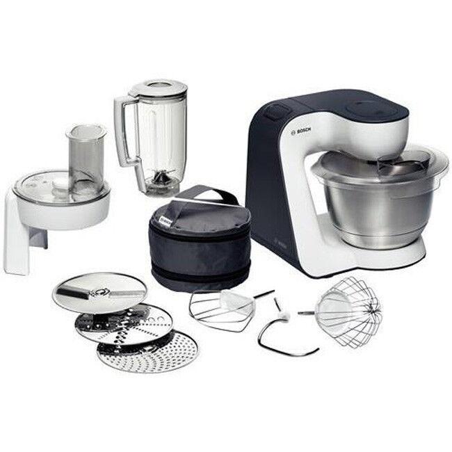 Bosch MUM 52120 Küchenmaschine Styline weiss/anthrazit NEU & OVP