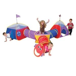 Play tent and tunnels