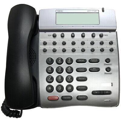 Nec Dterm Ip Phone Itr-16d-3bktel Refurb 1 Year Warranty