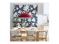 1 X Large IKEA 365+ Brasa Red Pendant Light Shade - £15