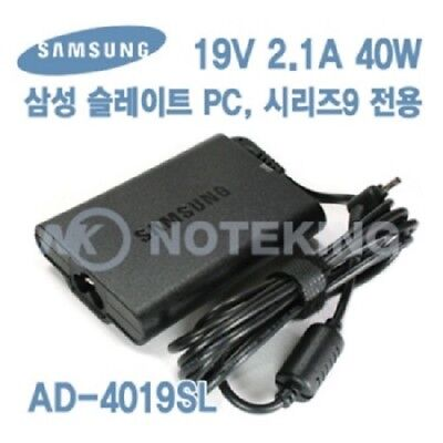 Samsung Genuine Laptop Adapter 19V 2.1A 40W AD-4019SL for Series 9