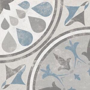 TM Decor No3 - Moroccan, Encaustic Effect Pattern Wall & Floor Tiles Porcelain