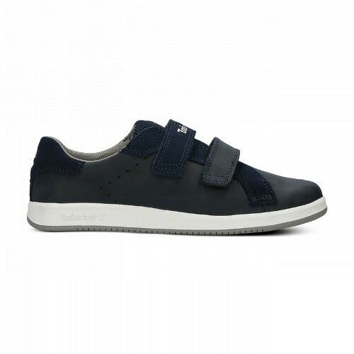 Infants/Youths Timberland Courtside Hook & Loop Navy Strap A1A6A Various Sizes
