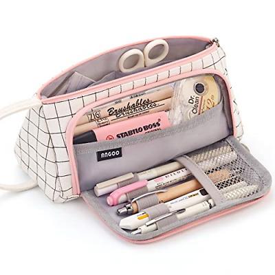 Easthill Large Capacity Pencil Case Multi-Slot Pen Bag Pouch