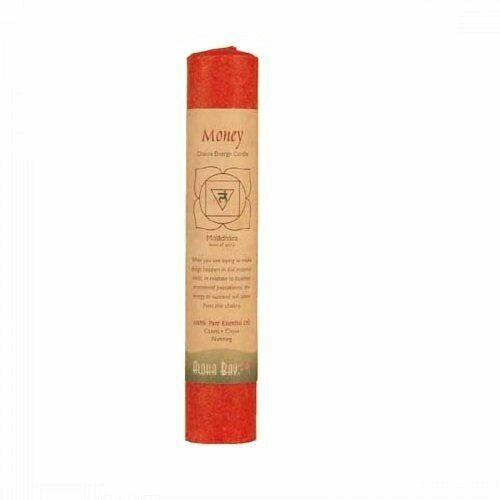 "Aloha Bay Chakra Pillar Candle Red 8"""